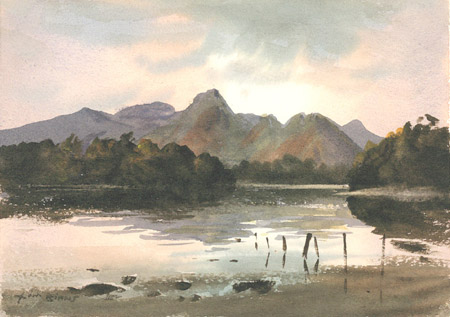 Derwentwater by Jim Binns
