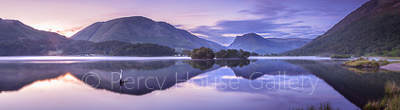 Crummock Water reflections
