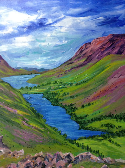 Buttermere by Venus Griffiths